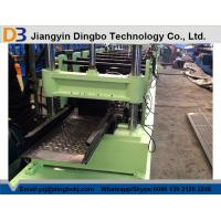 Buy cheap PLC Cable Tray Roll Forming Machine , Cable Tray Punching Machine Gear Box Driven product