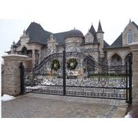 Buy cheap Hot galvanized wrought iron Gate from wholesalers