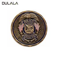 Buy cheap Die struck Zinc alloy soft enamel challenge coin with  double sides design from wholesalers