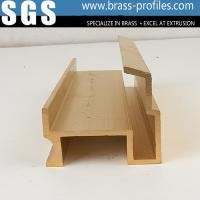 Buy cheap Extruded Decorative Copper Brass Profiles C3800 Copper Alloy Extrusions from wholesalers