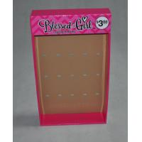 Buy cheap Cardboard Hook Display for Bracelets from wholesalers
