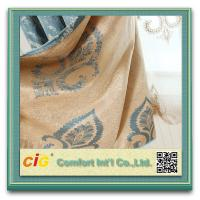Buy cheap Jacquard Home Textile Fabric Polyester Curtain Upholstery Fabric from wholesalers
