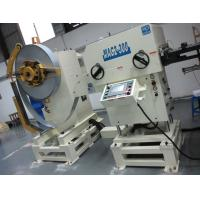 Buy cheap Metal Coil Decoil Line Decoiler Straightener Feeder For 300mm Width Steel Strip from wholesalers