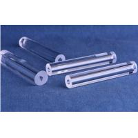 Buy cheap Optical Fused Silica Quartz Tube SiO2 Crystal Material With Customized Hole Shape from wholesalers
