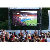Buy cheap front maintenance outside big viewing angle P10 LED video wall for stadium sports event from wholesalers