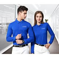 Buy cheap Uniform Work Polo T Shirts Modern Fashion Design Unisex Garments Launderable from wholesalers