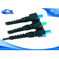 Buy cheap PE Jacketed Outdoor  Fiber Optic Cable With  ODVA SC Connector IP67 from wholesalers