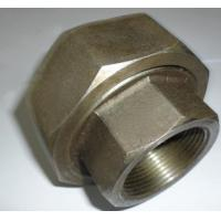 Buy cheap NPT Threaded 4 Inch Carbon Steel Pipe Fittings Carbon Steel Union SCH80 Wall Thickness from wholesalers