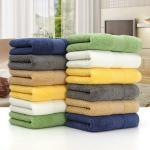 Buy cheap 35*75cm/70*140cm colorful cotton wholesale face towels bath towels from wholesalers