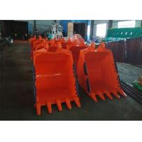 Buy cheap 1.1 CBM Capacity Excavator Rock Bucket 1200mm Width And 800 Mm Depth from wholesalers