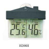 Buy cheap Digital window thermometer-hygrometer H208H, thermometer can be put on the window product