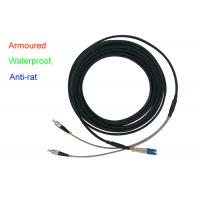 Buy cheap Waterproof Armoured Duplex Fiber Optical Indoor 5.0 Patch Cord Anti-rat DX LC FC from wholesalers