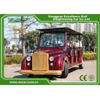 Buy cheap Excar Red Electric Classic Cars With Trojan Battery ,CE Approved from wholesalers