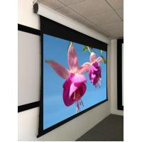 Buy cheap Home Theatre Tab Tensioned Motorized Screen with 4K Perforated Screen Fabric from wholesalers