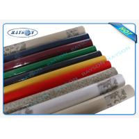 China Packed In Roll Pantone Color Non Woven Disposable Table Cloths 45g 50g 60g 70g Weight on sale