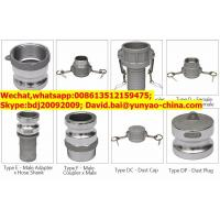 Buy cheap Good Performance Universal Male Female Camlock Quick Release Coupling from wholesalers