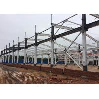 Buy cheap Qualified Large Steel Fabricated Buildings / Pre Fab Workshop ISO 9001 from wholesalers