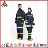 Buy cheap Professional Nomex Fireman Long Coat / Fire Commander Uniform for Men or Women from wholesalers