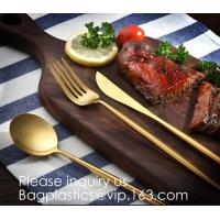 Buy cheap Cutlery Purple Flatware Tianjin Stainless Steel Cutlery,Elegant Design Stainless Steel Flatware Copper Coating Rose Gold from wholesalers