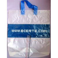 Buy cheap Biodegradable Personalized Plastic Grocery Bags With Loop Handle from wholesalers