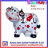 Buy cheap Polyresin cow statues,cow figurine,resin cow statues,animal gifts from wholesalers