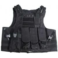 Buy cheap Tactical Molle combat cargo army vest airsoft shooting assault vest from wholesalers