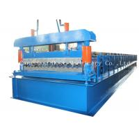Buy cheap Corrugated Automatic Roofing Sheet Roll Forming Machine 380v 50HZ Frequency from wholesalers