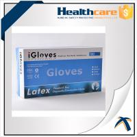 Buy cheap Safety Colorful Disposable Nitrile Gloves For Examination Powder Free / Powdered Surface from wholesalers