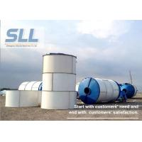 Buy cheap 380V 400V 415V Portable Cement Silo , Lime Storage Silo Large Capacity from wholesalers