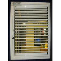 Buy cheap T5 / T6 Blinds Aluminum Window Frame Extrusions Gold Color ROHS from wholesalers