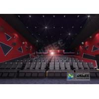 Buy cheap 55 Inch Display 60 People 4D Digital Cinema Equipment With Blue Color 4 Motion Seat product
