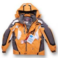 Buy cheap yellow men spyder ski jacket from wholesalers