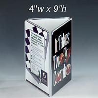 Buy cheap Three Sides Acrylic Menu Holder from wholesalers