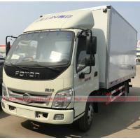 Buy cheap Foton Refrigerator Van Truck, Foton 5Tons Van Truck for meat fruit vegetable for sales from wholesalers