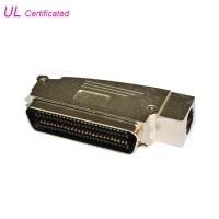 Buy cheap Amphenol 957 100Pin Plug IDC Male Connector With Side Cable Entry Zinc Cover from wholesalers