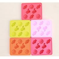 Buy cheap eco-friendly multicolor  silicone ice tray ,silicone ice mold from wholesalers