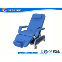Buy cheap Automatic Hemodialysis Chairs with pillow and footrest , Mechanical Blood Drawing Chair from wholesalers