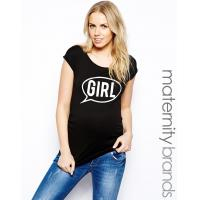 Buy cheap maternity shirt with speech bubble print maternity clothes manufacturers from wholesalers