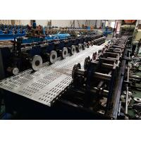 Buy cheap Galvanized Sheet Automatic Cable Tray Roll Forming Machine 100 - 600 mm Width from wholesalers