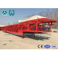 Buy cheap Hydraulic System Car Carrier Semi Trailer For Auto Transportation product