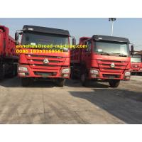 Buy cheap 40T Capacity LHD 6X4 SINOTRUK HOWO Tipper Dump Truck Euro 2 336HP Engine HYVA Front Lifting from wholesalers