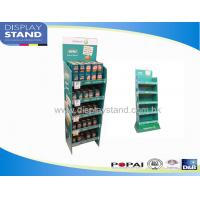 Buy cheap Gondola Side Cardboard Floor Display Stand Point of Purchase Shelf from wholesalers