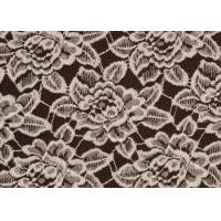 Buy cheap OEM / ODM Customied Brushed Floral Lace Fabric By The Yard Anti-Static CY-LQ0006 from wholesalers