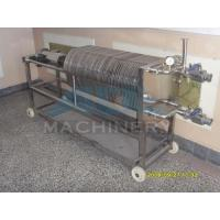 Small Size Stainless Steel Manual Plate and Frame Filter Press