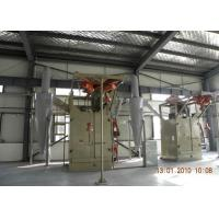Buy cheap Double Hooks Hanger Type Shot Blasting Machine For Alloy Wheels ISO9001 from wholesalers