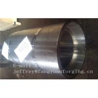 Buy cheap 16Mo3 Steel Forged Ring Forged Cylinder Flange Heat Treatment And Machined from wholesalers