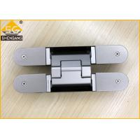 Buy cheap Aluminium Alloy Wardrobe Door Hinges Spring Loaded Hinges Baking  Finish from wholesalers