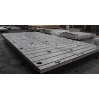 Buy cheap Cast Iron T-slot Table from wholesalers