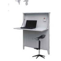 Buy cheap France Style Home Steel PC Desk Metal Home Storage Furniture from wholesalers