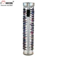 Buy cheap Rotating Eyewear Store Sunglasses Display Racks With Wood Base Metal Rod from wholesalers